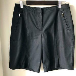 IZOD XFG Stretch Black Golf Shorts